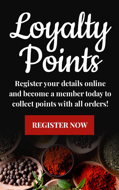 Earn Loyalty Points from Curry Cottage